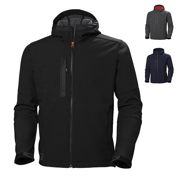 CHAQUETA SOFTSHELL KENSINGTON HELLY HANSEN IMPERMEABLE TRANSPIRABLE