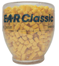 BOMBONA DISPENSADOR TAPÓN EAR CLASSIC (500 pares)