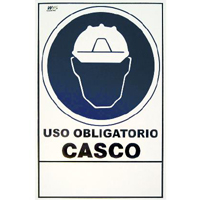 OBLIGATORIO USO CASCO
