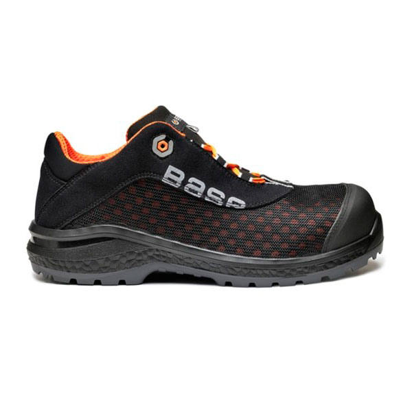 ZAPATO DE SEGURIDAD TRANSPIRABLE BASE B0878 BE-FIT S1P SRC HORMA EXTRA ANCHA