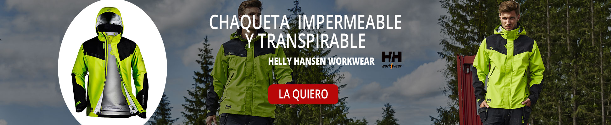 Chaqueta impermeable transpirable Helly Hansen