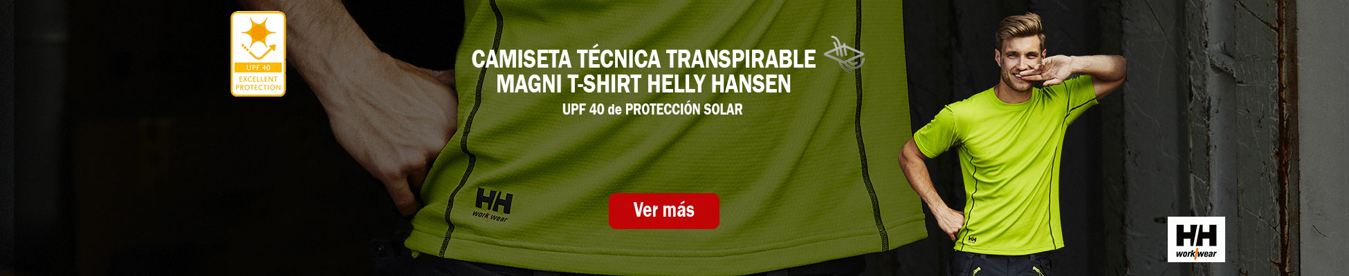 CAMISETA TÉCNICA TRANSPIRABLE MAGNI T-SHIRT HELLY