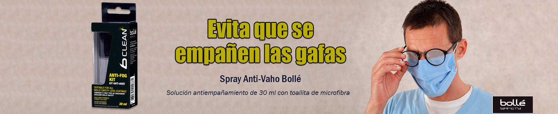 Spray Anti Vaho Bolle